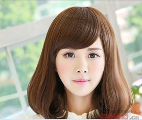 中短发流行发型图片 发型百科