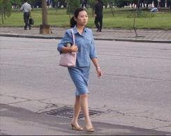 真实美女带你走进朝鲜生活现状 42