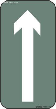圆角方形里的向上白色箭头