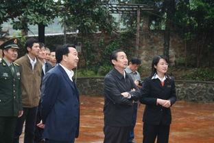 二炮政委彭小枫上将来我馆参观考察