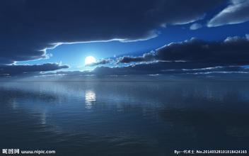 描写海边夜景的句子