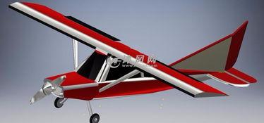 玩具飞机图纸模型