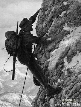 二战时期德国山地部队的装备