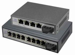 易睿信POE供电以太网光纤交换机E 5800系列