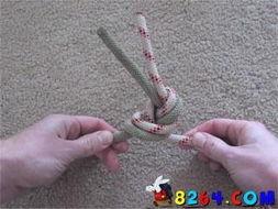 教大家一些绳结,每日更新,都是比较常用的
