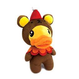 duck-彩色小鹿毛绒公仔超萌