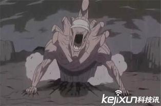 的术,召唤出了外道魔像并且吐出弑魂巨龙瞬间秒杀半藏和团藏的人....