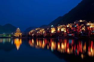 镇远古镇夜景 图片来源:资料图片-贵州十处最美最文艺拍照地