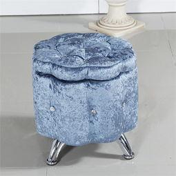 唐储-御唐轩欧式水晶换鞋凳时尚收纳储物凳沙发凳化妆凳长条凳子
