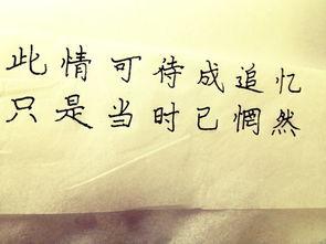 手写美句 手抄句子 带字的 图片 句子迷 美句
