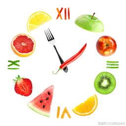 创意水果蔬菜时间钟表图片下载 图片ID 878088 水果蔬菜 图片素材 聚...