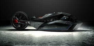 Doruk Erdem将这款概念摩托命名为Titan,其前部拥有霸气的外形,...
