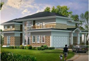 ...00平方米农村二层别墅设计图,12X8米14万,编号 J542 建筑圈网