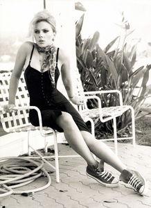 三分野性七分妩媚 斯嘉丽 约翰逊 Scarlett Johansson Harper s Bazaar 2010年1月号大片