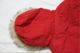 ...身加厚中长款红棉衣时尚保暖棉袄外套