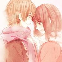 情侣头像接吻一对两张