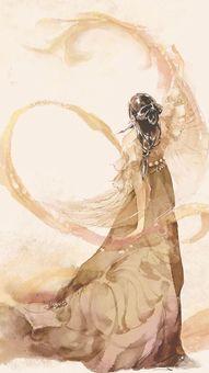 古风美女背影…_来自朱颜绯色9的图片分享-堆糖 (506x900)-古风手...