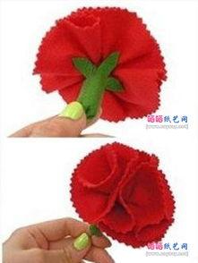 手工制作布艺草莓
