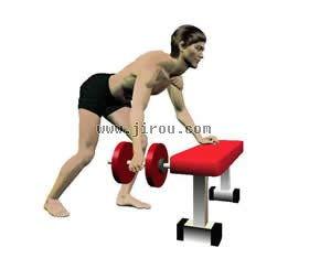 适合在家练肌肉的哑铃健身计划