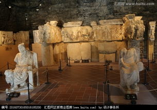 博物馆石头雕刻