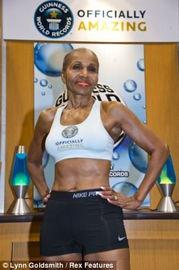 ...美 成世界最老女健美运动员