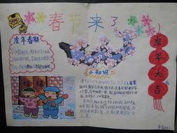 2013春节手抄报 正月初五 送穷