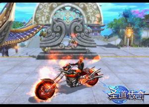 (图3浴火重生的魔鬼哈雷)-摩托控慎入 最霸道坐骑尽在圣道传奇