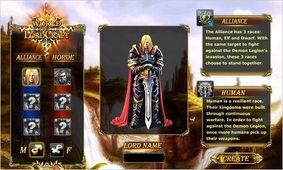 ...一款雷同魔兽的网页游戏