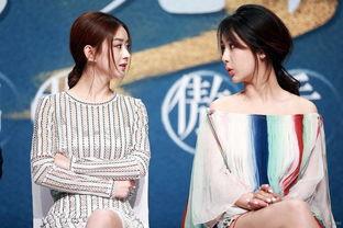 ...云志 发布会 赵丽颖称雪碧组合万年好基友