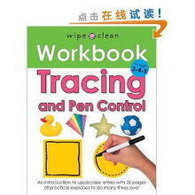 Wipe Clean Work Books Tracing and Pen Control