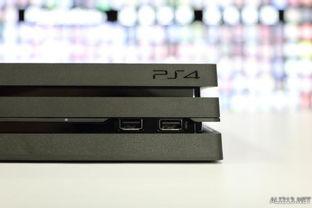 PS4 Pro的USB接口集中到右侧边缘-PS4 Pro亚版开箱介绍解说 PS4系...