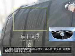 还是伪装的样式无法看出具体设计... 车轮采用了大尺寸的十辐条18寸铝...