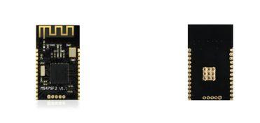 客户 MCU 通过 UART 口与模块相连接,模块启动后会自动发送广播码...