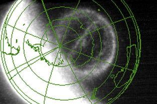 ...果,极光通常在高纬度的地区出现,但科学家发现地球磁层还存在...