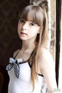 16岁俄罗斯美少女长大了 黑丝萝莉变身比基尼女郎