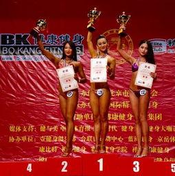博康 杯首届健美大师赛在京闭幕