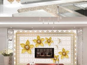 欧式高贵大气软包珠宝电视背景墙