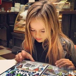俄罗斯9岁小萝莉成国际超模 盘点惊艳全球的萝莉