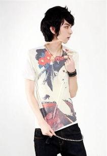 酷酷的帅帅的网络红人男生靳云雷照片