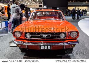 ... 289年福特野马,在第85届国际在日内瓦车展上,瑞士3月3日,2015...