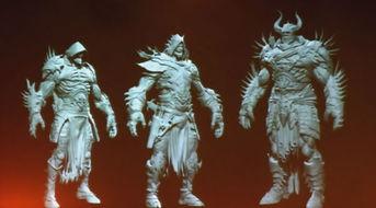 堕落之王 角色3D建模图曝光 E3展再会面