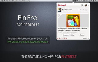 ...ro for Pinterest下载Mac版 Pin Pro for Pinterest 1.9 for Mac