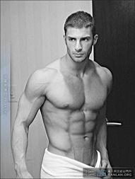 肌肉强健 美国Gay站AAG男模Adam