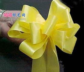 瓶子 礼物 礼盒包装的蝴蝶结包装方法 七种常见丝带蝴蝶结的系法图解 ...