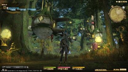 最终幻想14:重生国度-最终幻想14 PS3版用户界面首曝光