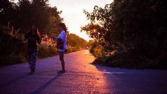 黄昏的那一道光,无事可做,成了在这儿闲逛的最好理由-蓝毗尼丨是 ...