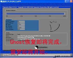 误Ghost数据恢复详解,分区完整还原 图
