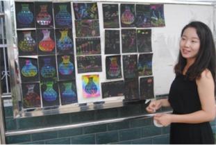 ...活动团队长――张佳佳-大学生走进乡村小学开展社会实践活动 关爱...