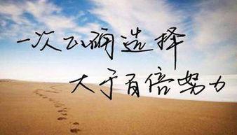 ,坚持是成功的终点.要生存就要进取,要成功就要坚强.与其花长时...