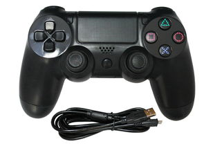 USB分体连接有线游戏手柄PS4主机手柄图片 USB分体连接有线游戏...